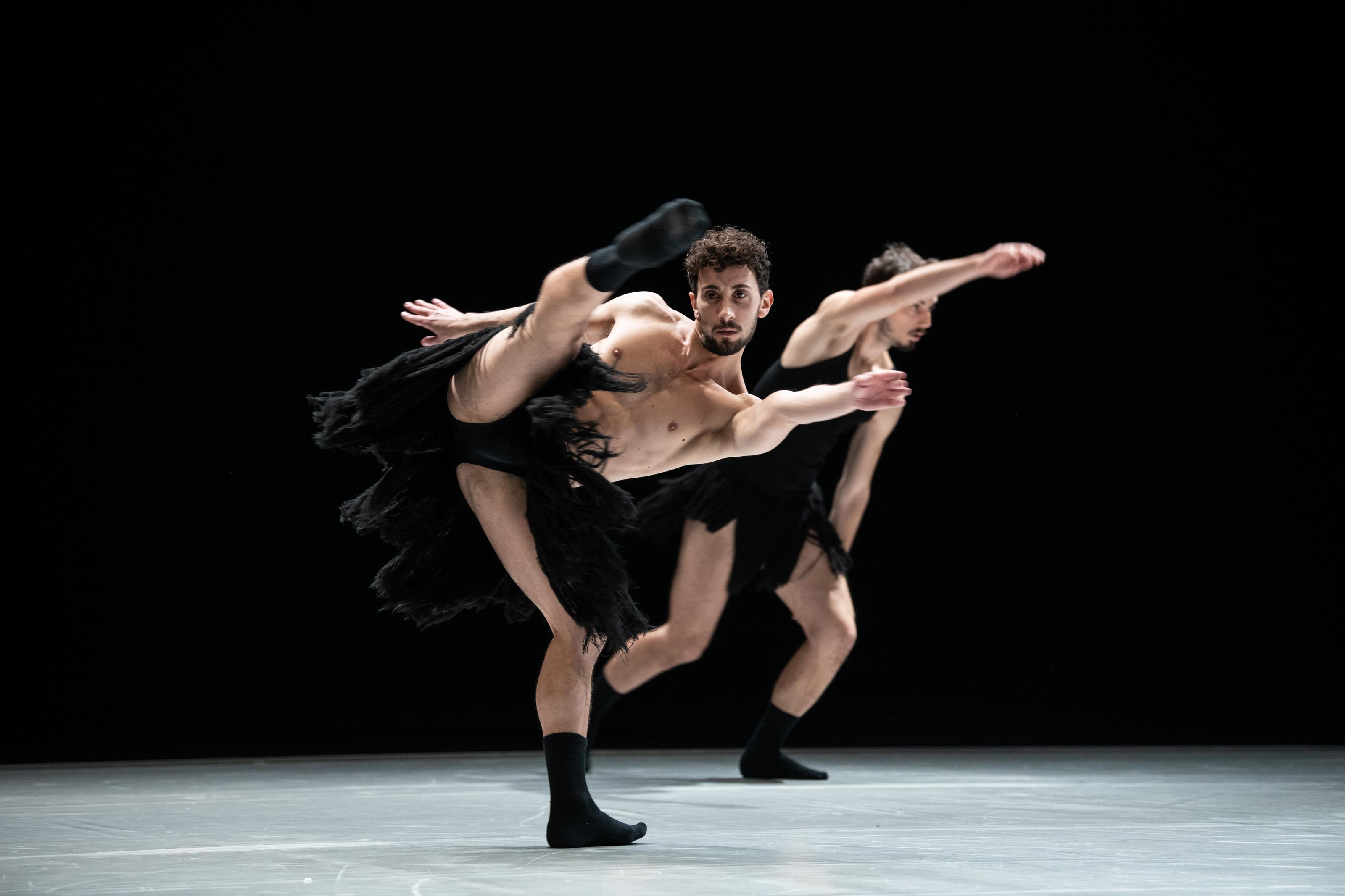 Michele Di Stefano danza sulla Parete Nord