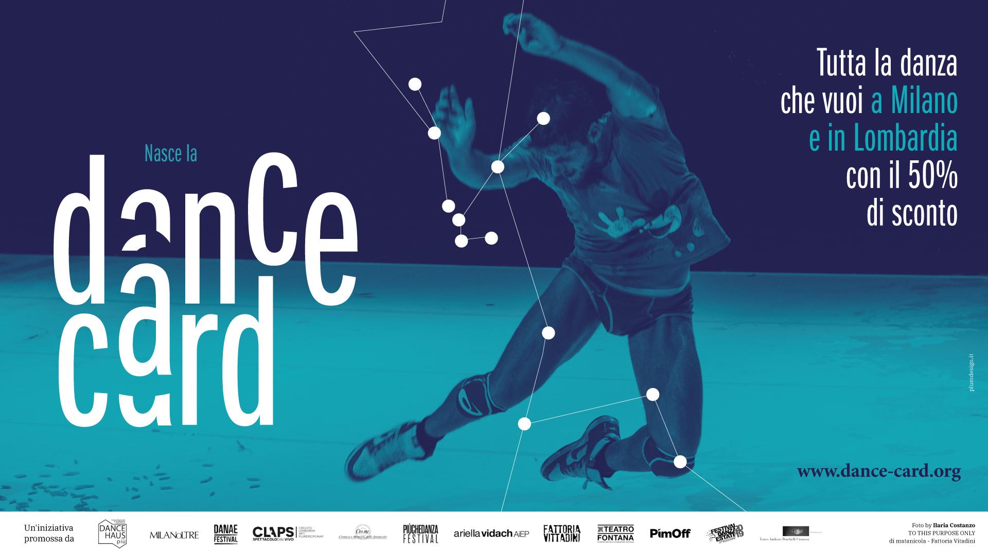 Dance Card: tanta danza contemporanea con lo sconto per tutti