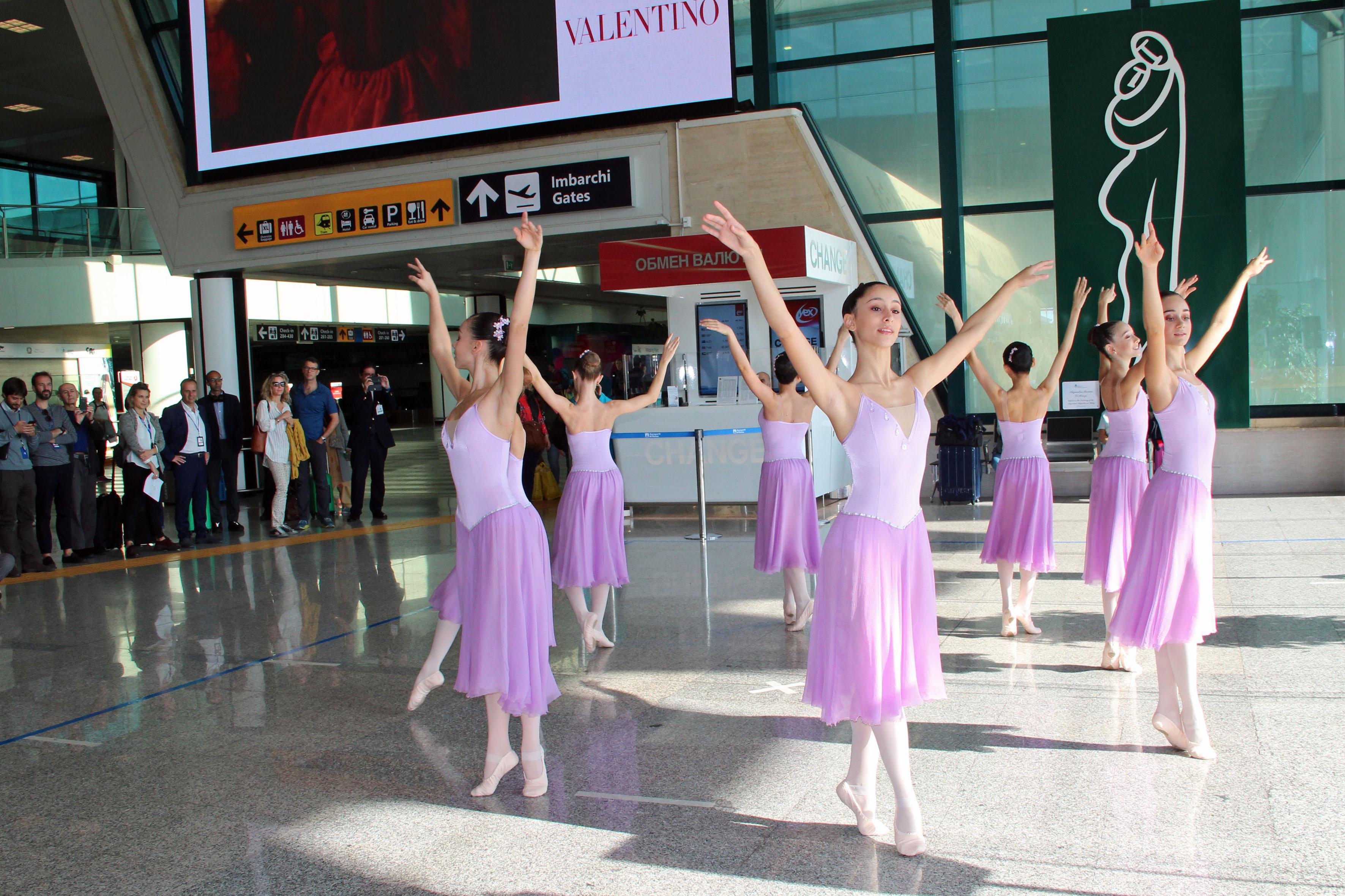 La danza in aereoporto